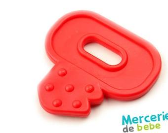 Red decorative element - shaped key - C23 - R5