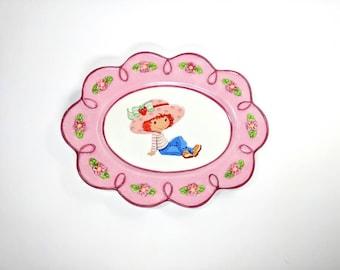 Vintage Strawberry Shortcake Platter