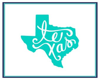 Texas Decal - Texas State Decal - Texas Car Decal - Texas Laptop Decal - Texas Yeti Decal - Texas Sticker - Window Decal - Yeti Decal