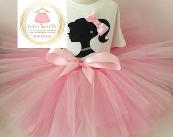 Barbie birthday outfit - barbie birthday dress - barbie birthday theme - barbie party - barbie tutu - pink barbie dress