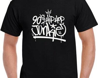 90's Hip Hop Junkie T Shirt