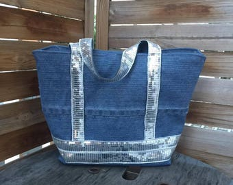 Sequins Shopping Bag