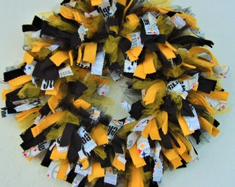 NFL, AFC North, Pittsburgh Steelers, Cincinnati Bengals, Cleveland Browns, Baltimore Ravens, Rag Wreath