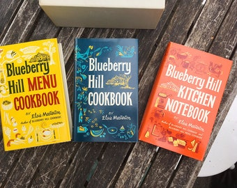 Blueberry Hill Cookery Do - cookbook set in box, Elise Masterson 1964