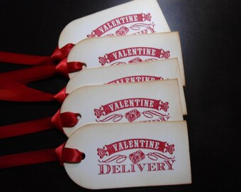 Valentine's Delivery Tags