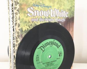 Vintage Disneyland Vinyl Record Bookends