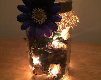 Potpourri Mason Jar Lights