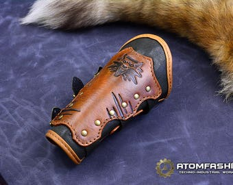The Witcher leather bracer for women