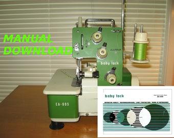 Juki Baby Lock, sewing machine, Baby Lock Serger, Overlock manual, Sewing manual, Sewing instructions, babylock manual, baby lock manual, Ba