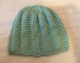 Hand knit toddler hat