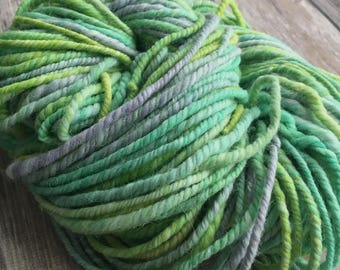 Handspun 50/50 Superfine Alpaca & Wool 2 Ply Yarn - Handdyed!
