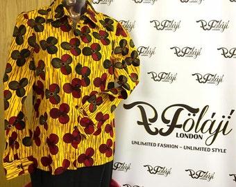 Moremi101/7 African Print Shirt