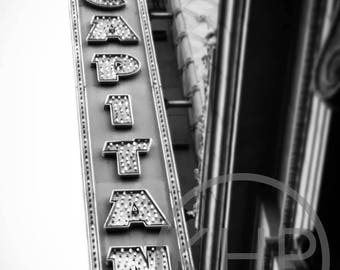 El Capitan Theatre, Sunset Blvd, Los Angeles
