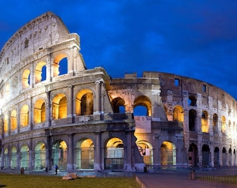 Laminated placemat Italy Rome Colosseum