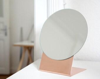 Copper Table Mirror
