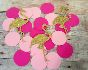 225 Flamingo Confetti, Flamingo Party Decorations, Flamingo Birthday, Tropical Party Decorations, Let's Flamingle, Flamingo First Birthday