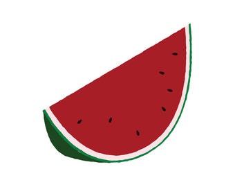 Watermelon - Temporary Tattoo (Set of 1)