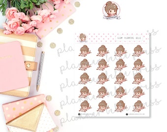 Glam Planning Belle || Stationary Stickers, Planner Stickers