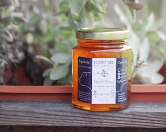 Orange & Ginger Infused Honey