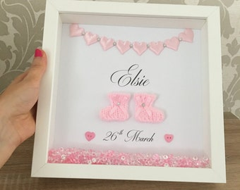 personalised christening gift new baby frame new baby gift