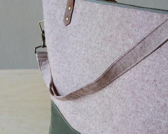 Crossbody Strap -  Add-on for Large Tote, Zipper Tote