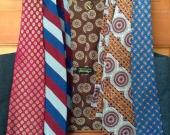 Vintage Necktie Vest Wearable Art 1980s Womens Small