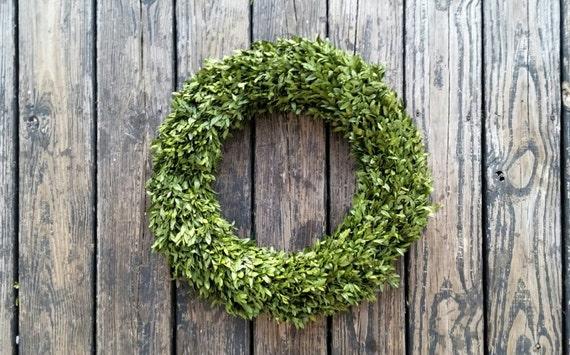 Wreath, Preserved Boxwood Wreath
