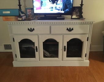 Rabbit or small animal cage tv stand