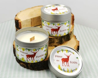 Deer: Totem natural and scented candle