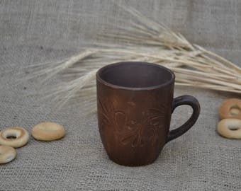 Hand Made Clay Cup Tea Cup  Pottery Cheap Pottery Mug Crockery