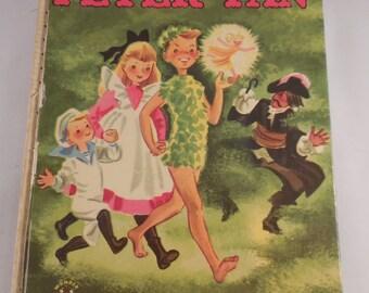 Wonder Book Peter Pan 1952