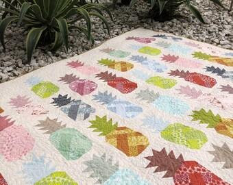 Pineapple Farm by Elizabeth Hartman - Paper Printed Pattern