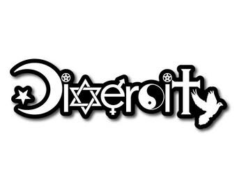 Diversity Bumper Sticker or Magnet Decal