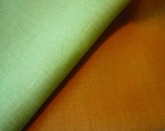 Czechoslovakian linen tea towels ~ retro linen tea towels