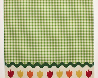 Tulips Tea Towel