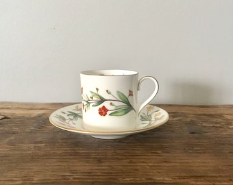 "Minton ""Meadow"" China Demitasse Cup and Saucer"