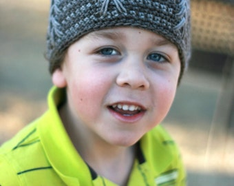 Crochet Pattern - Nature Walk Beanie - One Size Fits Most
