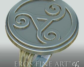 Triskele Ring - Erotikschmuck - keltischer Schmuck  - Celtic - Triskele - BDSM - erotic jewelry