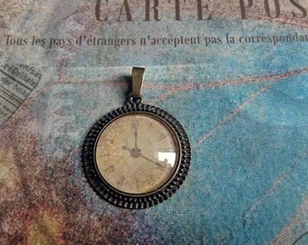 cabochon round clock