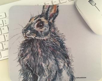 Rabbit Mousepad - Mousepad Gum - Mousemat Rabbit - Pad Office - Computer