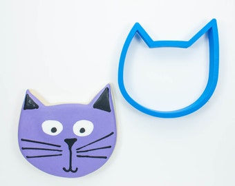 Whimsy Cat Cookie Cutter | Cat Cookie Cutter | Kitten Cookie Cutter | Custom Cookie Cutters | Unique Cookie Cutters | 3D Cookie Cutters