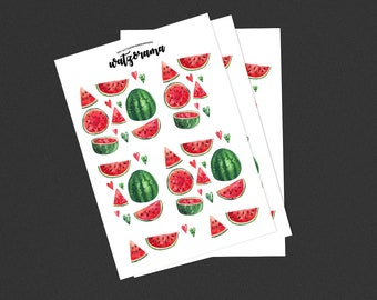 Watermelon stickers