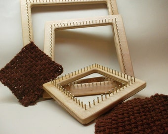 Pin Loom Kit, Pin Loom, Zoom Loom, Square loom, Weaving Loom, Frame Loom, Weaving Frame