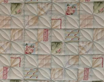 Handmade Quilt Lap Size 40 x 50