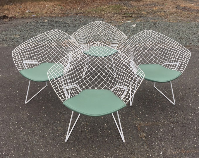 Mid-Century Modern Patio Chairs by Harry Bertoia for Knoll