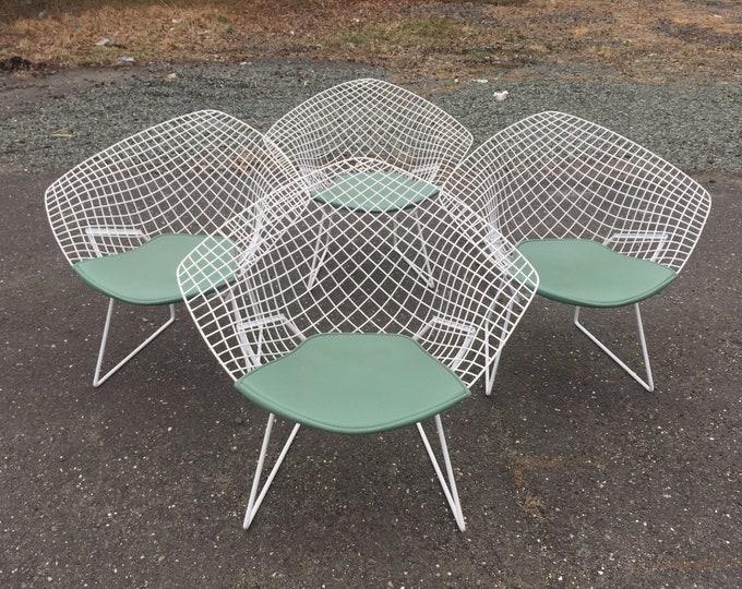 Knoll Diamond Patio Chairs by Harry Bertoia