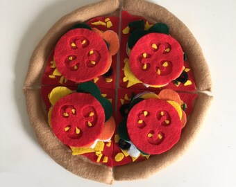 Make your own pizza playfood deluxe set