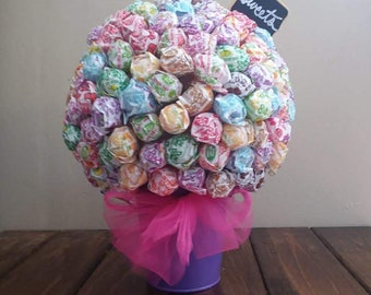 Playful and Fun Lollipop Centerpiece - 2lbs of candy!