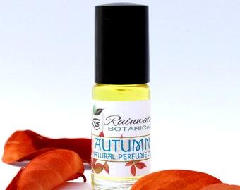 Autumn natural perfume with plum kernal and jojoba  oil all natural