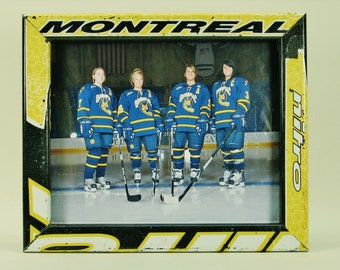 8 x 10 Hockey Stick Frame - FREE SHIPPING in US  (#5766)